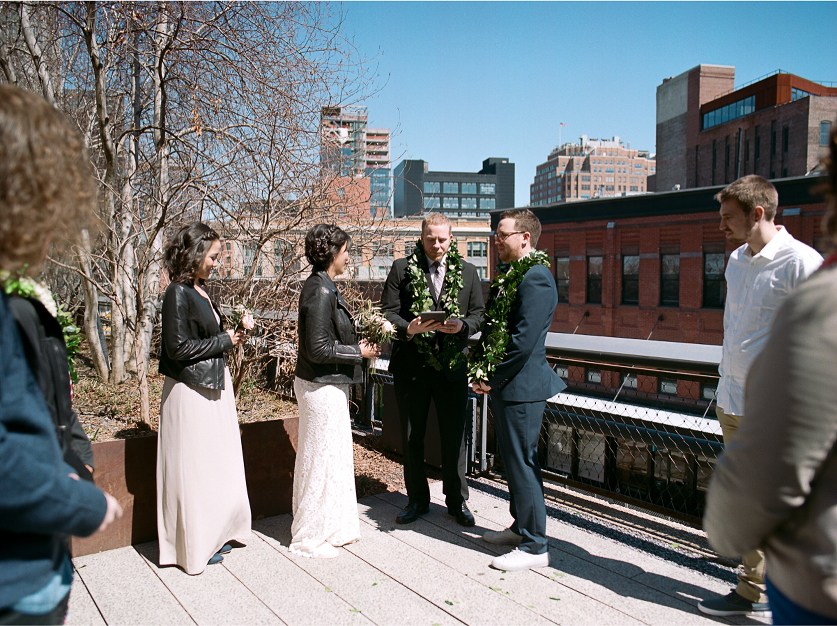 NYC Highline Elopement